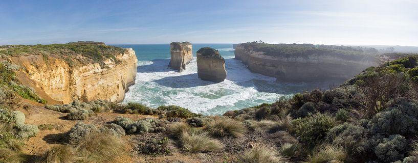 Great Ocean Road Australie van Chris van Kan