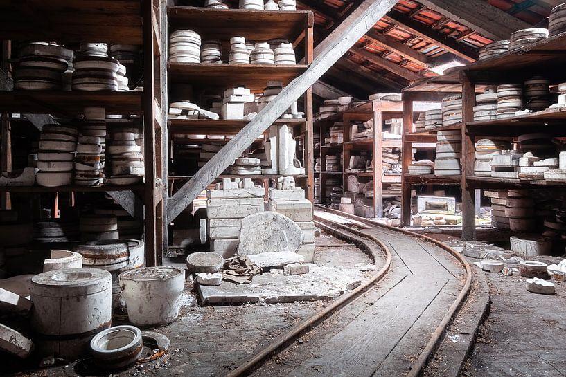 Usine de céramique abandonnée. sur Roman Robroek