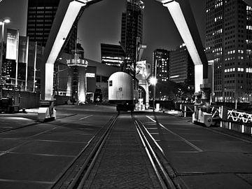 Rotterdam - Leuvehaven by night von Kay Pieterman