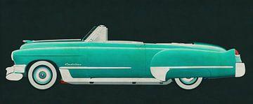 Cadillac Deville Cabriolet 1948 von Jan Keteleer