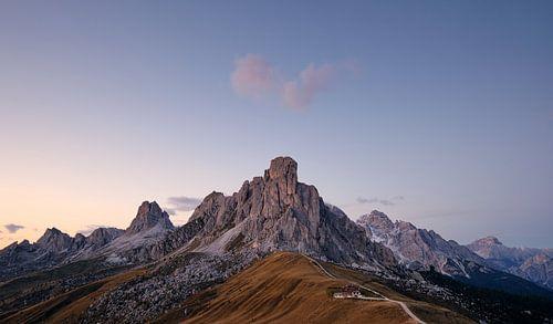 Sundown, Passo Giau, Dolomites