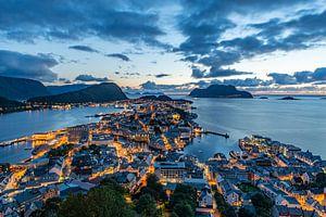 Alesund Noorwegen van