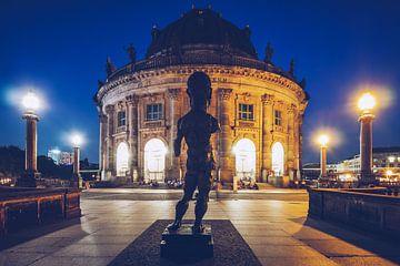 Berlin - Musée de Bode la nuit sur Alexander Voss