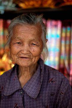 Oude Chinese vrouw von André van Bel