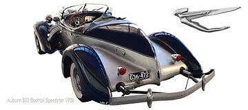 Auburn 852 Boattail Speedster von aRi F. Huber