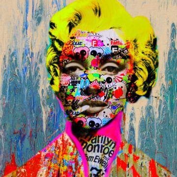 Marilyn Monroe Dadaismus van Felix von Altersheim