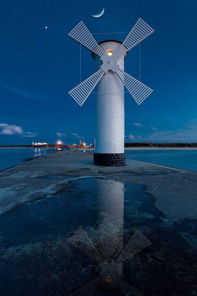 Leuchtturm Swinemünde van Tilo Grellmann