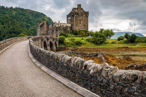 Eilean Donan castle van Kim Claessen