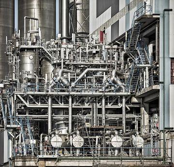 Industrieel detail II van David Bleeker