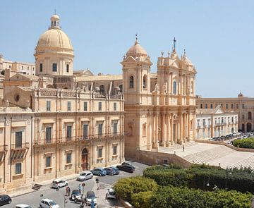 Kathedrale Dom San Nicolo, Noto, UNESO Weltkulturerbe, Vale di Noto, Provinz Syrakus, Sizilien, Ital