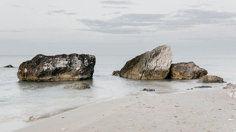 Felsen im Meer, Italien von Stephanie Egberts