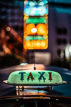 Tuk Tuk Taxi in Bangkok von Bernd Hartner