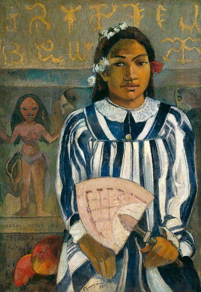 Merahi metua no Tehamana, Paul Gauguin van 1000 Schilderijen