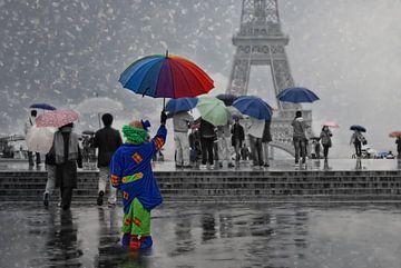 Goede dag Paris! van Joachim G. Pinkawa