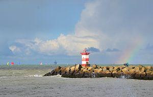 Het havenhoofd van Scheveningen