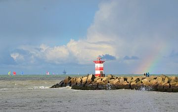 Le port de Scheveningen sur Marian Sintemaartensdijk