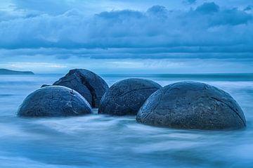 Moeraki boulders von Guy Lambrechts