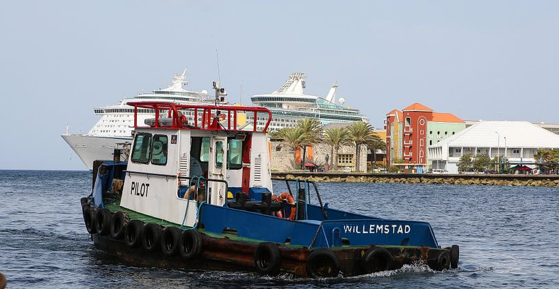 pilot boat loodsbootje willemstad curacao van Frans Versteden