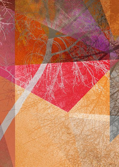 P26-B TREES AND TRIANGLES van Pia Schneider