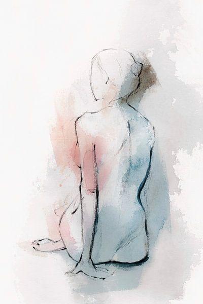 Pastal Woman II, Isabelle Z  van PI Creative Art