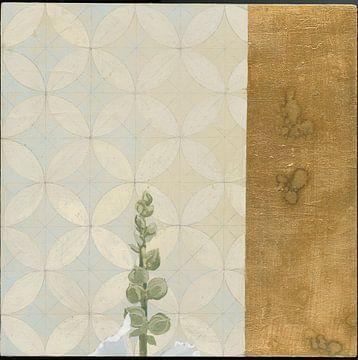Weiß Malve Square I, Kathrine Lovell von Wild Apple