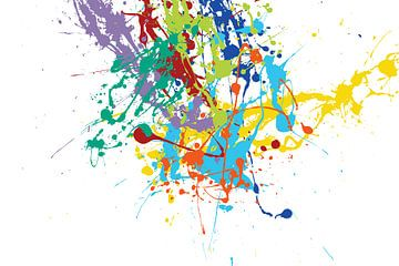 Tribute to Jackson Pollock von Harry Hadders