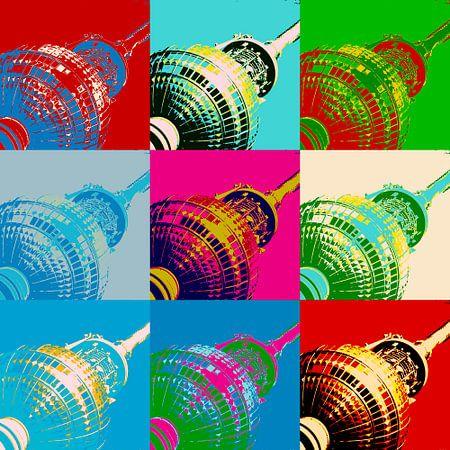 Fernsehturm Berlin von Gabi Siebenhühner