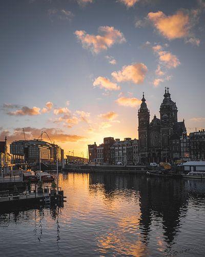 November sunrise in Amsterdam No. 3 von