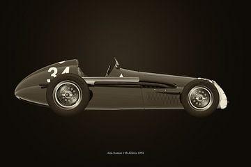Alfa Romeo 158 Alfetta 1950 B&W