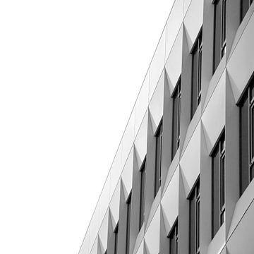 Station Arnhem Centraal (zwart wit) van Nicky Kapel