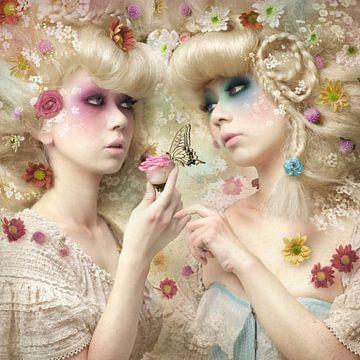 Mädchen des Blumengarten, Kiyo Murakami von 1x