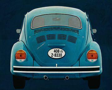 Volkswagen Kever Sedan 1972 Achterkant
