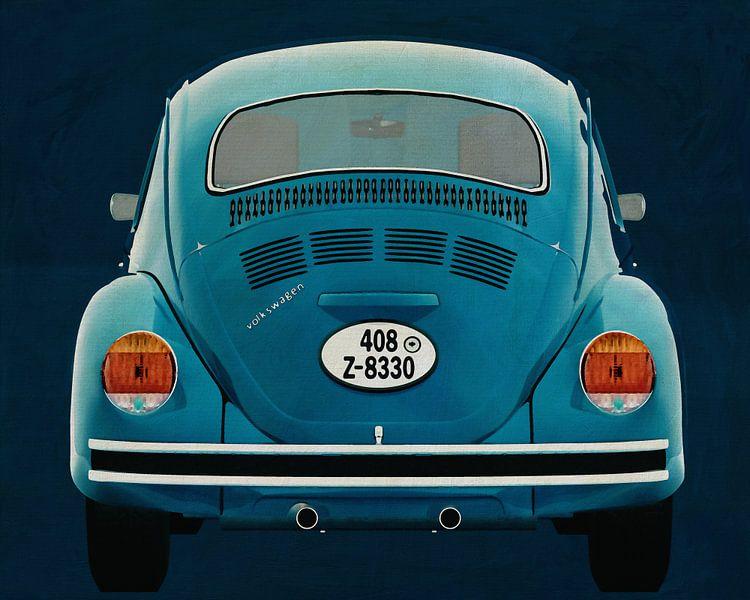 Volkswagen Kever Sedan 1972 Achterkant van Jan Keteleer
