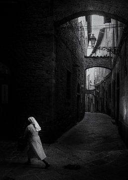 Nun in Pistoia Toscane