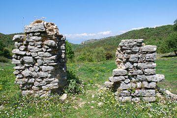 Oude vesting op het eiland Corfu von Ingrid Van Maurik
