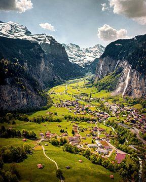 vallée de Lauterbrunnen sur