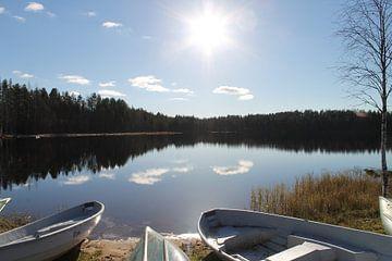 Silent lake von Jasmijn Peele