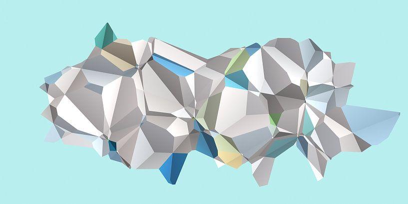 Polygon N.3 van Oliver P_Art