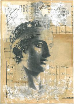 Le Diadumenos - Sculpture grecque sur Nora Bland