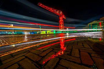 Stripes in the night van Peter Heins