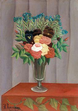 Boeket bloemen, Henri Rousseau - ca. 1909