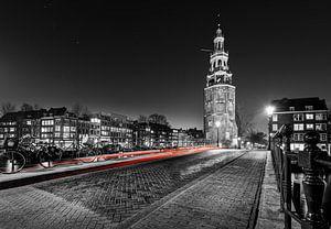 Amsterdam at night - Montelbaanstoren