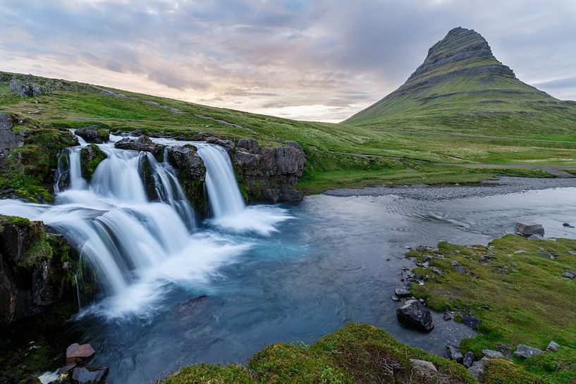 Kirkjufellsfoss Iceland sur Menno Schaefer