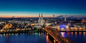 Köln Skyline von davis davis