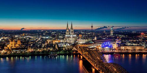 Köln Skyline van