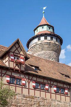 NUREMBERG Castle Sinwell Tower  van Melanie Viola
