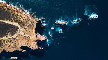 Klif Algarve Portugal von Tomas Grootveld