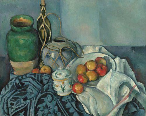 Paul Cézanne - Stilleven Met Appels van 1000 Schilderijen