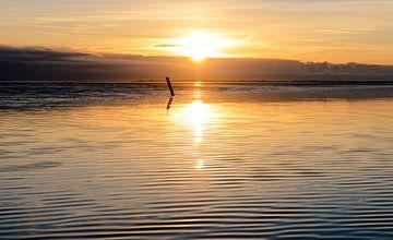 vlieland wad zonsondergang von hein van houten