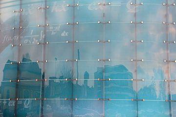 glazen gevel van een modern gebouw van Heiko Kueverling